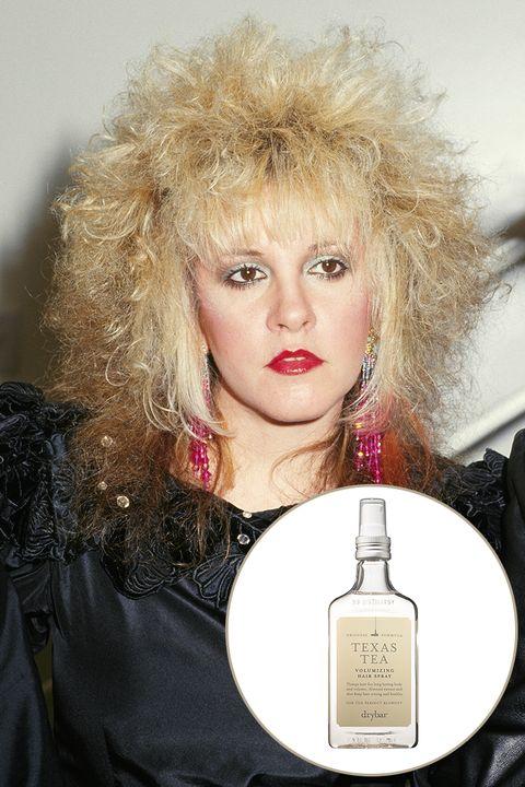 Big Hair. <p>'80s makeup ...