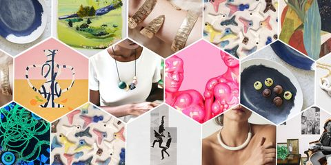 women artists art and jewelry