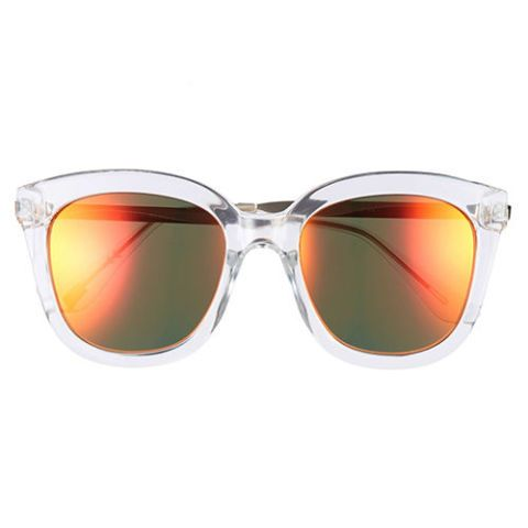 item 8 dd.7 mirrored clear sunglasses