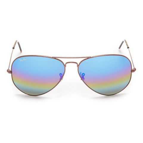 Ray-Ban Rainbow Mirrored Aviator Sunglasses