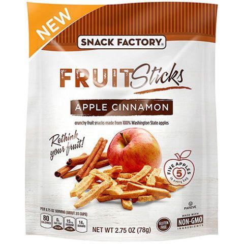 Snack Factory Apple Cinnamon Fruit Sticks