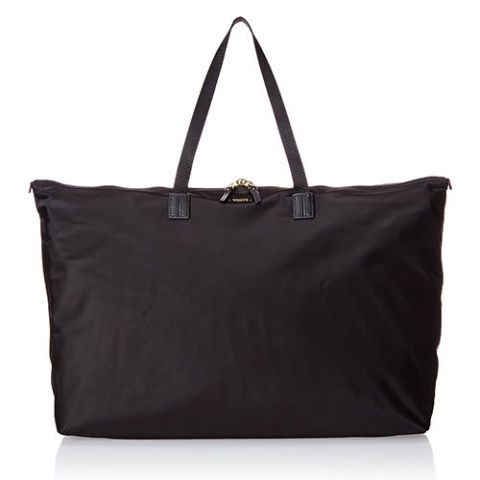 tumi just in case black nylon duffel bag