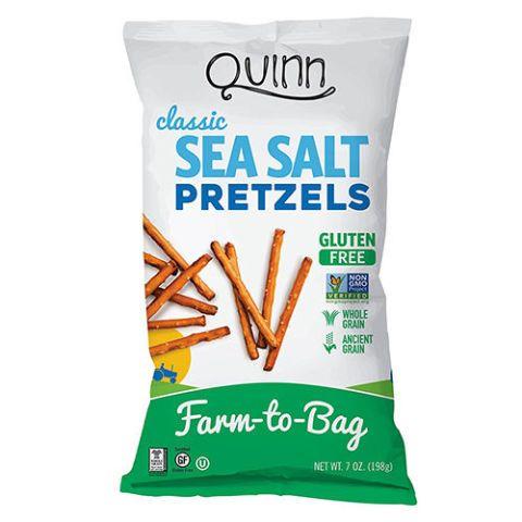 Quinn Snacks Gluten Free Classic Sea Salt Pretzels