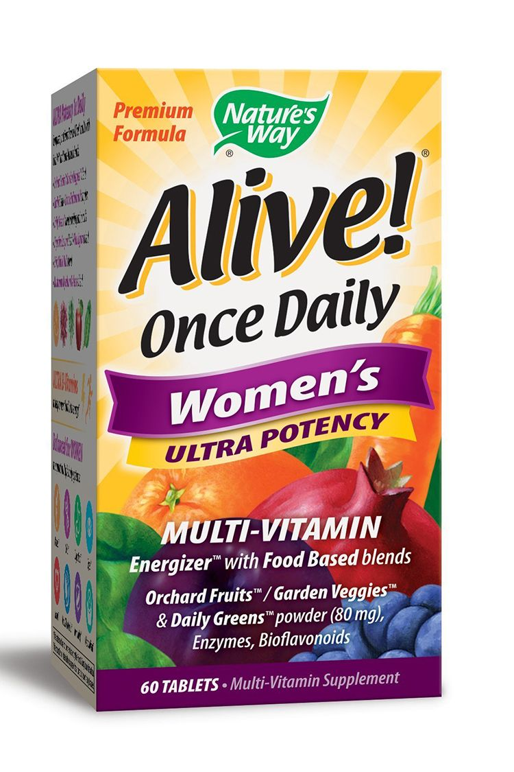 Nature's Way Alive! Once Daily Women's Ultra Potency Multi-Vitamin