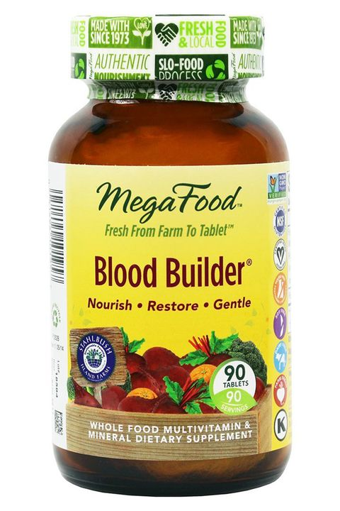 MegaFood Blood Builder, Energy Boosting Iron Supplement