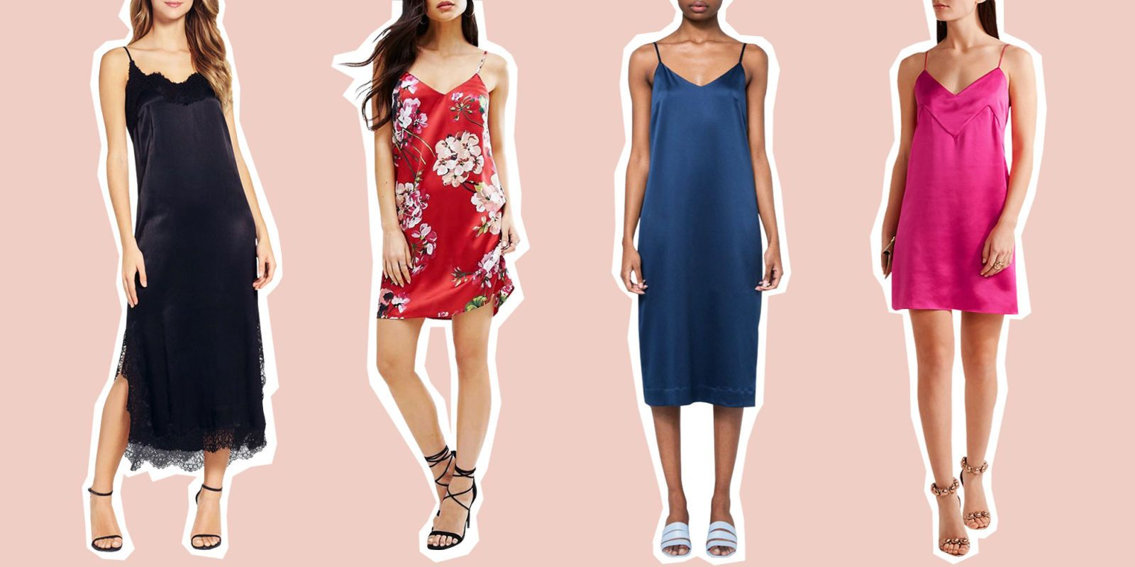 When it comes to '90s fashion, the slip dress was the ultimate icon. Now  it's making a comeback for 2017! Revive the slinky look with these modern  ...