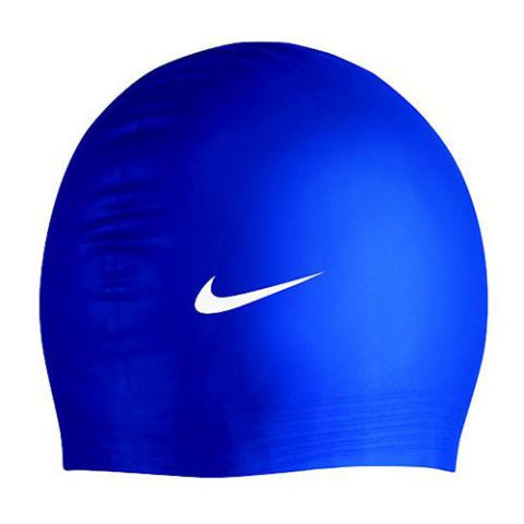 Nike Solid Latex Swim Cap