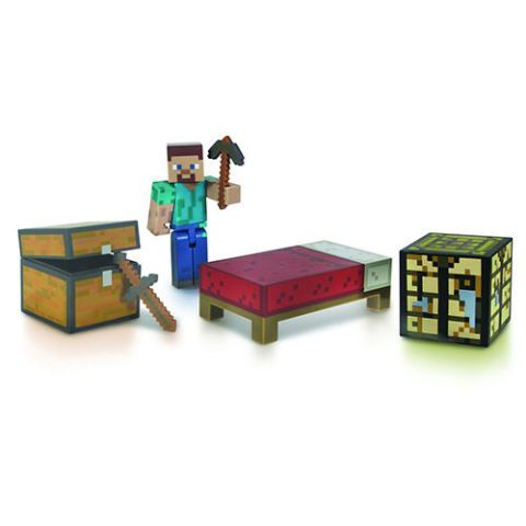 Minecraft Core Player Survival Pack Action Figures