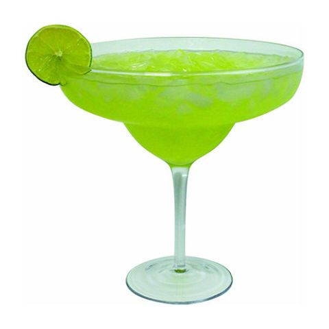 Royal Lush Extra Large Giant Cinco De Mayo Margarita Glass