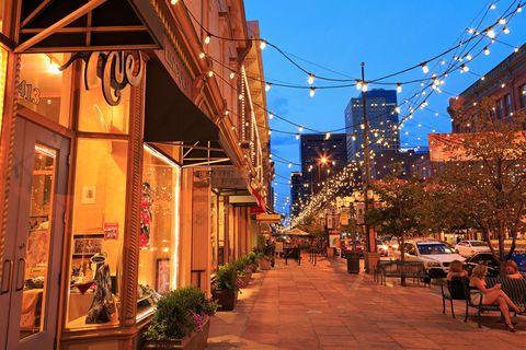 What To Do Larimer Square Denver Colorado