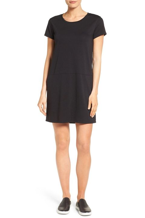 caslon black t-shirt dress