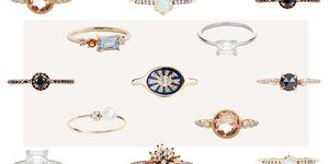 unique inexpensive engagement rings