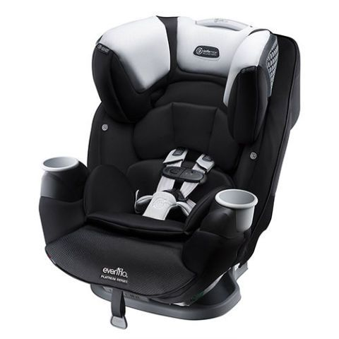 Black And White Convertible Car Seat