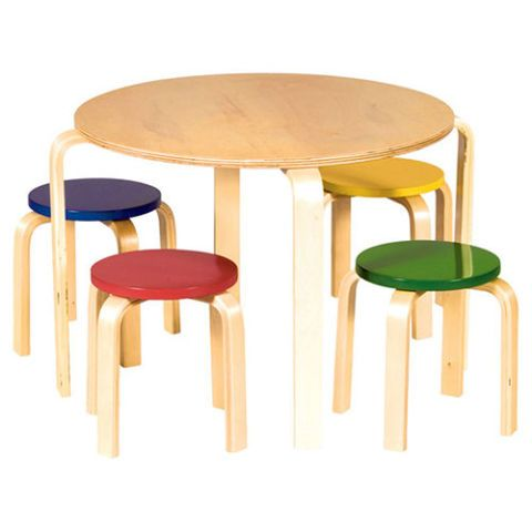 Nordic Wooden Table And Chairs Set