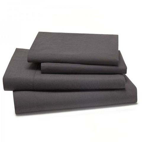 Kassatex Lorimer Garment-Washed Percale Sheet Set