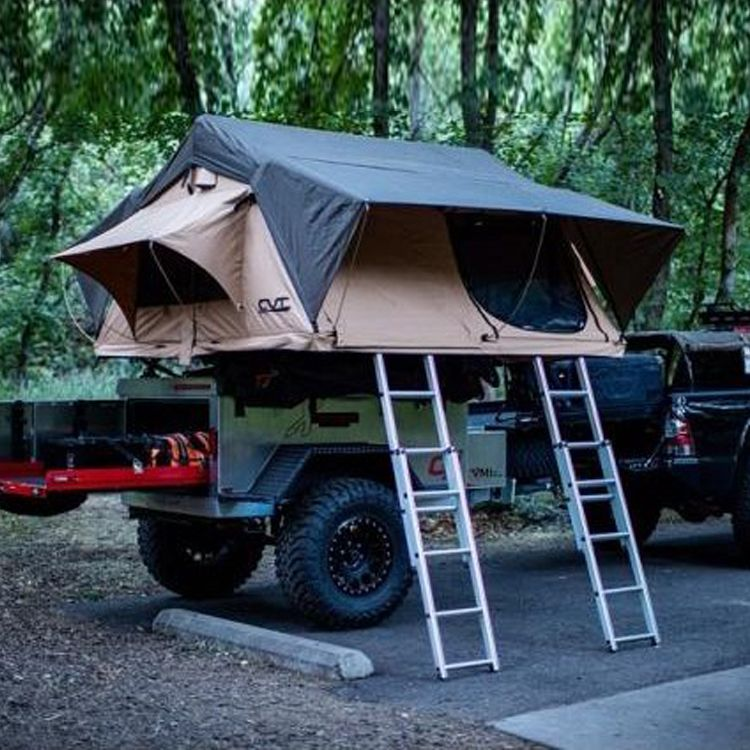 CVT Mt Denali Stargazer Pioneer Rooftop Tent & 8 Best Roof Top Tents for Camping in 2018 - Roof Tents for Your ...