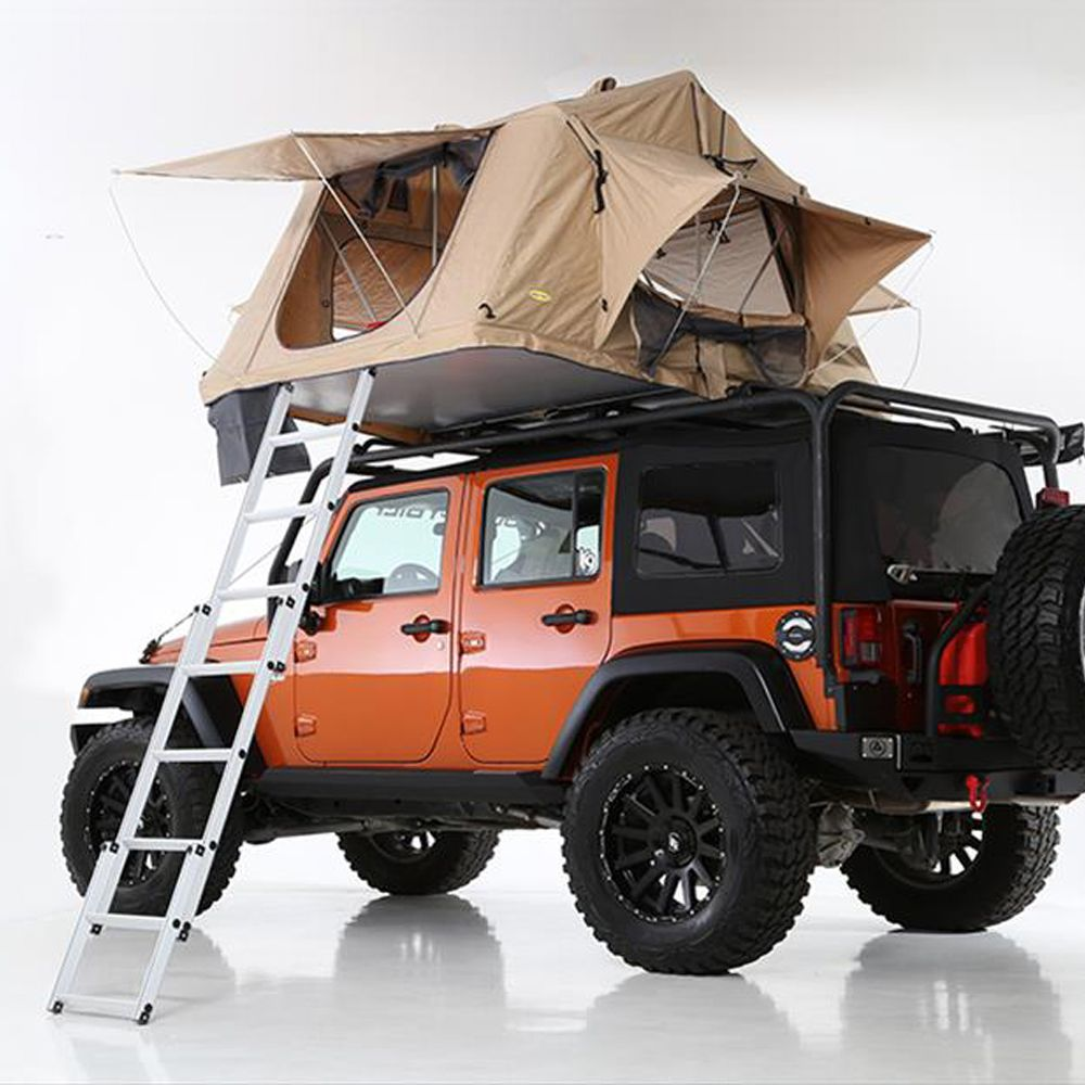 Smittybilt Rooftop Folded Tent & 8 Best Roof Top Tents for Camping in 2018 - Roof Tents for Your ...