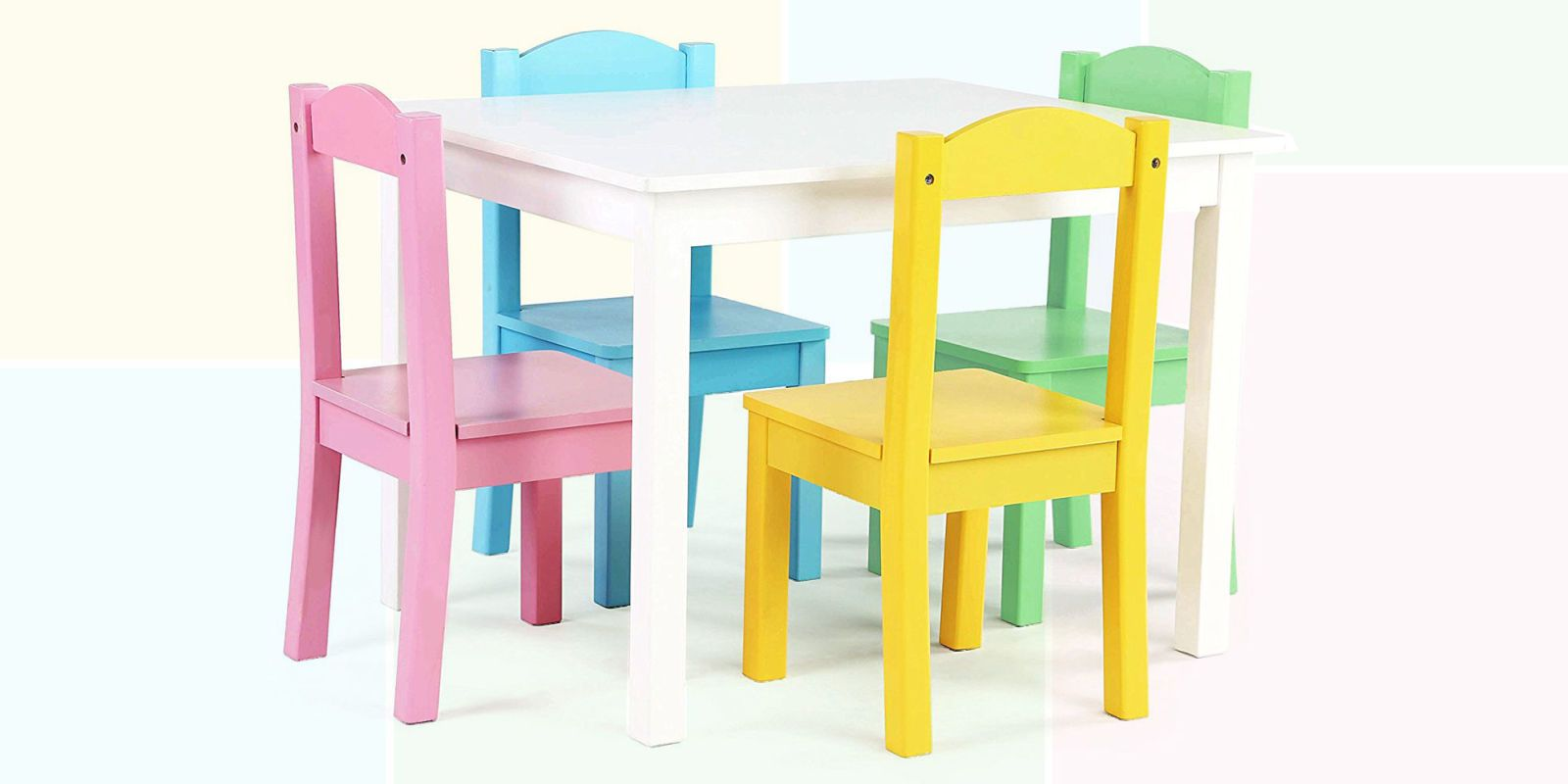 toddler table and chairs  sc 1 st  BestProducts.com & 17 Best Kids Tables and Chairs in 2018 - Childrens Table and Chair ...