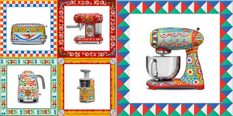 smeg dolce and gabbana appliances