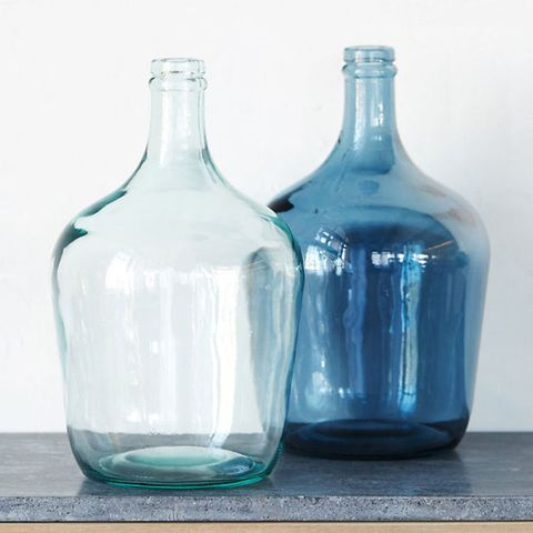 Terrain Glass Bottleneck Vase