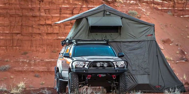 Tents That Attach To Cars : Best roof top tents in for your car or