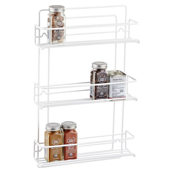 Container Store 3-Shelf Wire Spice Rack