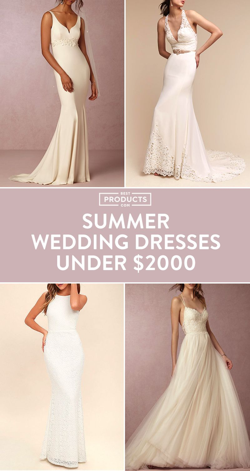 11 cheap wedding dresses for summer 2018 best summer wedding gowns junglespirit Choice Image