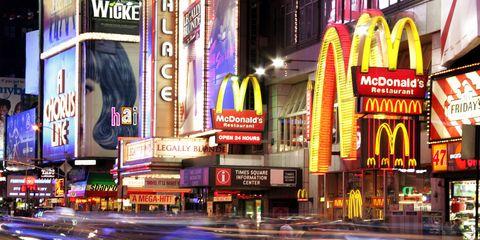 McDonald's Uber
