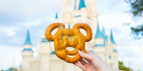 Castle and Mickey Pretzel