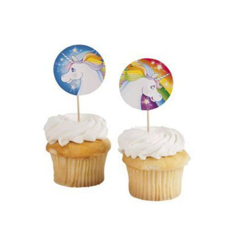 Unicorn Cupcake Cake Picks