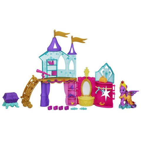 My Little Pony Crystal Princess Palace Playset