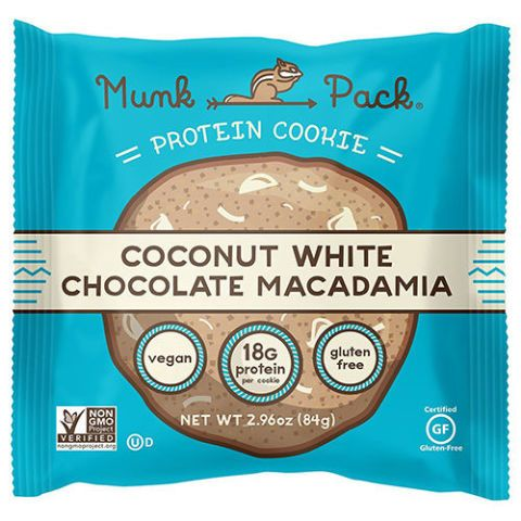 Munk Pack Coconut White Chocolate Macadamia Protein Cookie