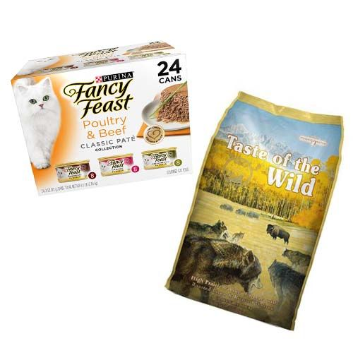 Fancy Feast 24-Pack$14 BUY NOW Taste of the Wild 30-Pound Bag$49 BUY NOW Though the Subscribe & Save program doesn't cover every type of pet food you can find on Amazon, it does cover a pretty solid list of options for cats, dogs, fish, rodents, and reptiles. You'll have to search your specific brand on Amazon to see if your food of choice is available, or you can search through the full list of offerings here. From personal experience, we've found that pet food doesn't tend to unlock any savings with a subscription, but it's still incredibly convenient.