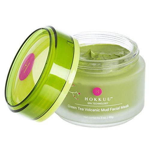 Hokku Spa Technology Green Tea Volcanic Mud Facial Mask