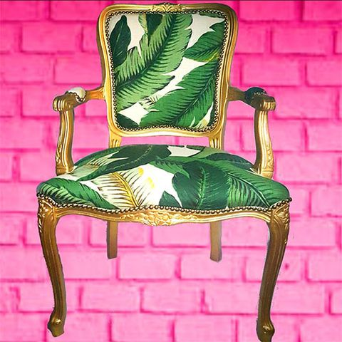 Magnificent 19 Best Jungle Decor For 2018 Banana Leaf Palm Tree Room Machost Co Dining Chair Design Ideas Machostcouk