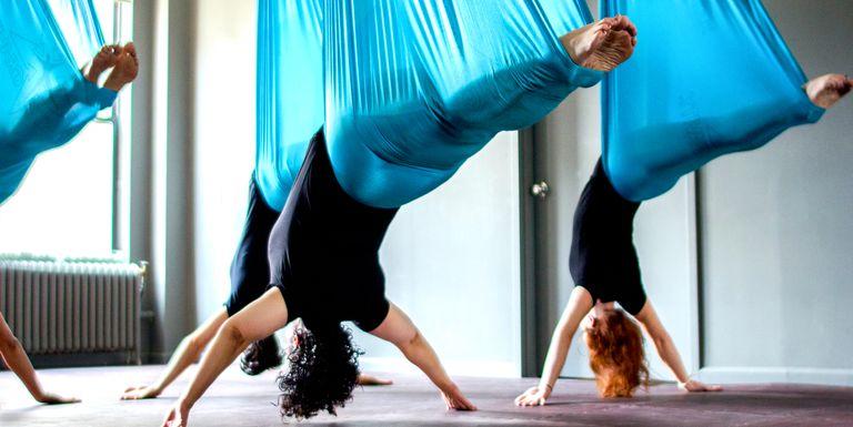 7 Best Aerial Yoga Studios In Nyc For 2018 Fun Classes