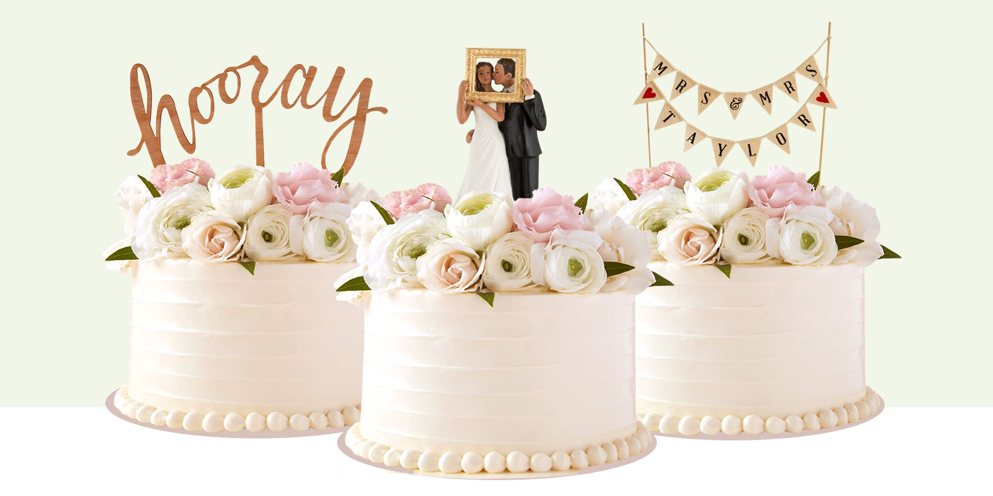 10 Best Wedding Cake Toppers for 2018 - Romantic Wedding Toppers ...
