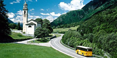 European bus trips under $500