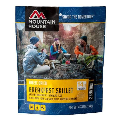 Mountain House Freeze-Dried Breakfast Skillet