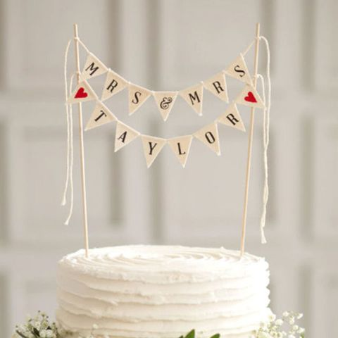 Friendly Events Cake Topper