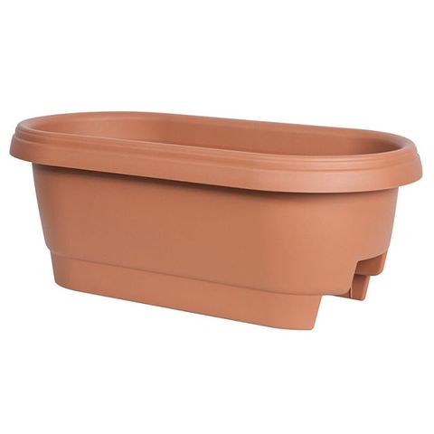 Fiskars 24-Inch Deck Rail Planter Box