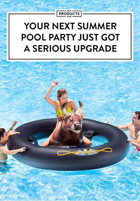 Inflatabull Ride On Pool Float 2018 Best New Summer Pool Toy