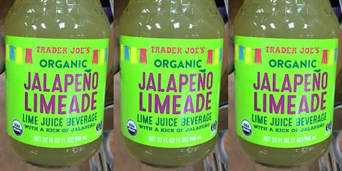 Trader Joe's released an Organic Jalapeño Limeade beverage that looks perfect for margaritas