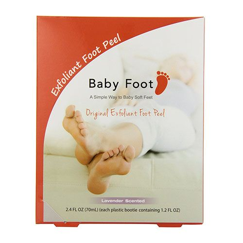 "<p><strong data-redactor-tag=""strong"" data-verified=""redactor""><em data-redactor-tag=""em"" data-verified=""redactor"">$25</em></strong> <a href=""https://www.amazon.com/Baby-Foot-Exfoliation-lavender-scented/dp/B00461F4PA?tag=bp_links-20"" target=""_blank"" class=""slide-buy--button"" data-tracking-id=""recirc-text-link"">BUY NOW</a></p><p>If you've ever wanted to know what it's like to have an exoskeleton, try this foot peel. A few days after you've applied the treatment, your feet will literally MOLT their outer layer of skin. If you're grossed-out by the thought, don't look at the comments section because you *will* see pictures! </p>"