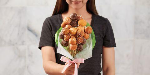 tim horton's donut bouquet