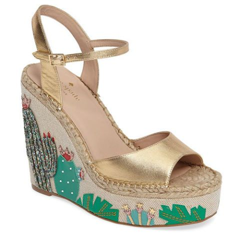kate spade dallas cactus wedge sandals