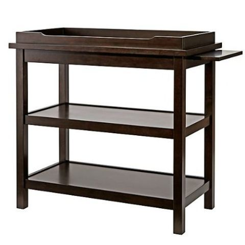 Land Of Nod Dark Wood Changing Table