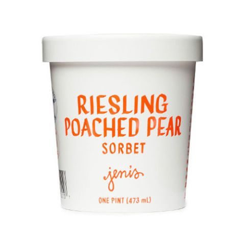 Jeni's Riesling Poached Pear Sorbet