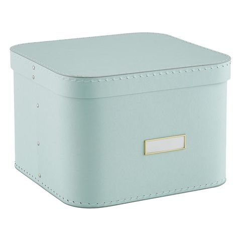 The Container Store Mint Oskar Storage Box