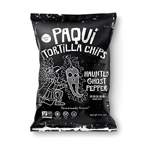 "<p><strong data-redactor-tag=""strong"" data-verified=""redactor""><em data-redactor-tag=""em"" data-verified=""redactor"">$3</em></strong> <a href=""https://www.amazon.com/Paqui-Tortilla-Chips-Haunted-Pepper/dp/B01N6HD8HB/?tag=bp_links-20"" target=""_blank"" class=""slide-buy--button"" data-tracking-id=""recirc-text-link"">BUY NOW</a></p><p>You may remember when Paqui put out their&nbsp;limited-edition Carolina Reaper Madness chip (yes, literally just one chip) that claimed to be the spiciest in the world. The challenge was essentially just to eat it&nbsp;without having a full-body meltdown, which made for some great <a href=""https://www.youtube.com/watch?v=srBhVq3i2Zs"" target=""_blank"" data-tracking-id=""recirc-text-link"">internet vids</a>! The chips are sold out, but this is their next spiciest offering, so good luck to your bowels!&nbsp;</p><p><strong data-redactor-tag=""strong"" data-verified=""redactor"">More:</strong> <a href=""http://www.bestproducts.com/lifestyle/g2666/ultimate-hot-sauce-gift-guide/"" target=""_blank"" data-tracking-id=""recirc-text-link"">14 Gifts All Hot Sauce Lovers Would Want to Receive</a> </p>"